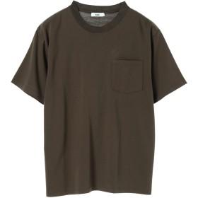 【6,000円(税込)以上のお買物で全国送料無料。】mens ネックドレッシーTシャツ