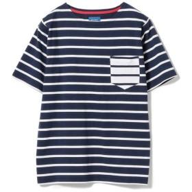 [マルイ]【セール】BEAMS / ボーダー パッチポケット ボートネック Tシャツ/ビームス(BEAMS)