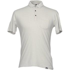 《送料無料》WOOLRICH メンズ ポロシャツ ライトグレー M コットン 70% / 麻 30%