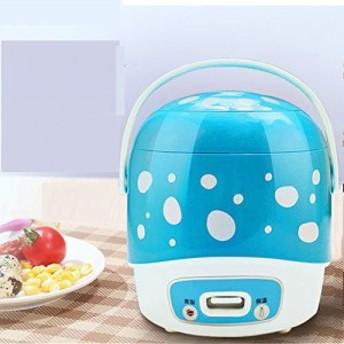 ミニ炊飯器1-2 人ホーム寮小さな自動ミニ スロークッカー電気米炊飯器食品 (中古良品)