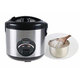 Tayama 10 Cup Stainless Steel Rice Cooker by TAYAMA(新品未使用の新古品)