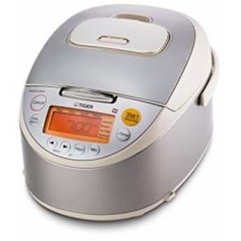 Tiger JKT-B10U-C 5.5-Cup Stainless Steel Rice Cooker Beige by Tiger Co(新品未使用の新古品)