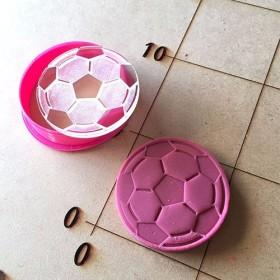 サッカーボール クッキーカッター・クッキー型