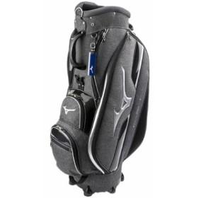 ミズノ(MIZUNO) ゴルフ用品 カートキャディバッグ LIGHT STYLE ST LIGHT ダークグレーモク 5LJC180300 05 【ゴルフ キャディバッグ】