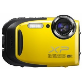 FUJIFILM コンパクトデジタルカメラ XP70Y イエロー F FX-XP70Y(中古良品)