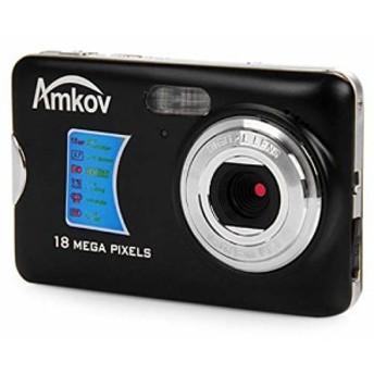 AMK-CDFE デジタルカメラ 8メガピクセル 2.7インチディスプレイ トラベル H(中古良品)