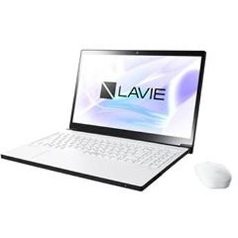 15.6インチ LAVIE Note NEXT NX750/NA Windows10/Core i7/メモリ8GB/HDD1TB+Optane16GB プラチナホワイト PC-NX750NAW