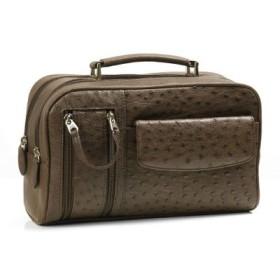 (sankyoshokai/サンキョウショウカイ)ビジネスバッグ メンズ オーストリッチ Wファスナーアウトポケット携帯入れ付/メンズ その他 送料無料