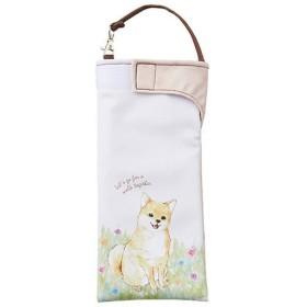 折りたたみ傘&ペットボトル収納ホルダー - セシール ■カラー:犬・おさんぽ) J(シマエナガ・きのみ) H(猫・レンガ) K(フクロウ・月夜