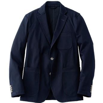 【メンズ】 全方向ストレッチ素材のテーラードジャケット(ワンダーシェイプ®) - セシール ■カラー:ダークネイビー ■サイズ:L,5L,3L,M,LL