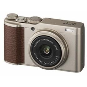FUJIFILM デジタルカメラ XF10 シャンパンゴールド XF10-G(中古良品)