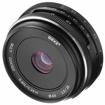 Meike 28mm f2. 8大口径マニュアルフォーカスレンズfor Canon EOS EF - m(中古良品)