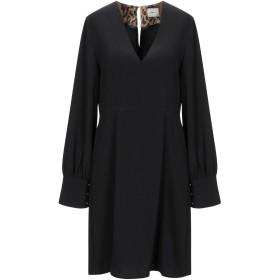 《送料無料》,MERCI レディース ミニワンピース&ドレス ブラック 38 ポリエステル 95% / レーヨン 5%