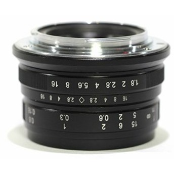 Pixco 25mm f1.8HD。mcmanualフォーカスレンズfor Canon EOS m6m5m10m(新品未使用の新古品)