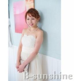 ドレス 胸元フラワー ハイウエストロングドレス パーティードレス お呼ばれドレス 二次会  結婚式 発表会 卒園式 二次会
