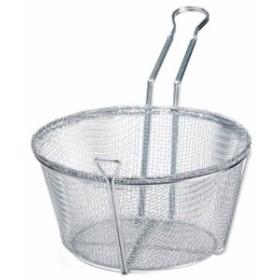 Wire Round Fry Basket - 10-1/2 Dia. by Winco(中古良品)