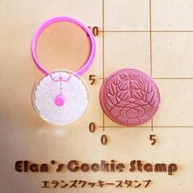 杏葉牡丹 クッキーカッター・クッキー型