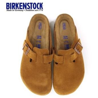 ビルケンシュトック BIRKENSTOCK ボストン BOSTON BS レディース メンズ 1009542 幅広 サンダル スエード ミンク ブラウン 国内正規品