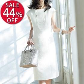 91ce8dbbcb468 セール ファッション イタリア素材 ペイズリー ジャカード ワンピース| 結婚式・パーティー・二次会・