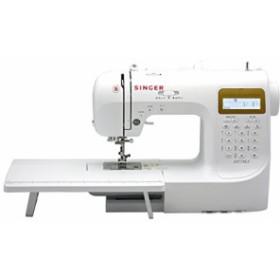 SINGER コンピュータミシン(数字・アルファベット・ひらがな縫い可能) SN77(新品未使用の新古品)