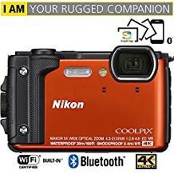 Nikon Coolpix w30016MP 4K Ultra HD防水デジタルカメラ(オレンジ)( (中古良品)