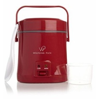 Wolfgang Puck Signature Perfect Portable Rice Cooker Red by Wolfgang P(新品未使用の新古品)