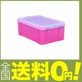 不二貿易 収納ケース R.U.BOX プラスチック 9L ビビッドピンク 20783