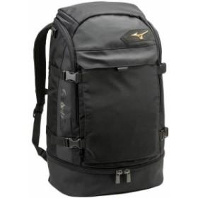 ミズノ(MIZUNO) グローバルエリート バックパック ブラック 1FJD801009 【野球 スポーツバッグ リュック】
