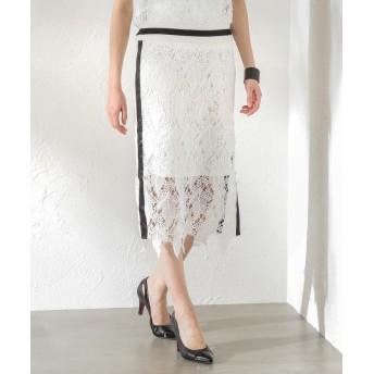 ラブレス WOMEN レーススカート レディース ホワイト2 36 【LOVELESS】