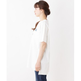 ワンピース - Cutie Blonde ロゴチュニックTシャツワンピース