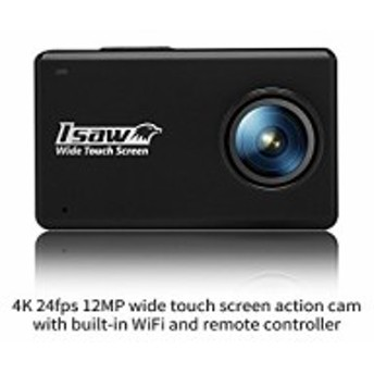ISAW TOUCH Wide Touch Screen Action Sports Camera 4K 24fps 1080p 60fps(中古良品)