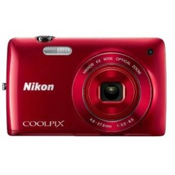Nikon Coolpix s420016.0MPデジタルカメラ(レッド)(新品未使用の新古品)