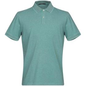 《期間限定 セール開催中》VIADESTE メンズ ポロシャツ グリーン 50 コットン 91% / ポリウレタン 9%