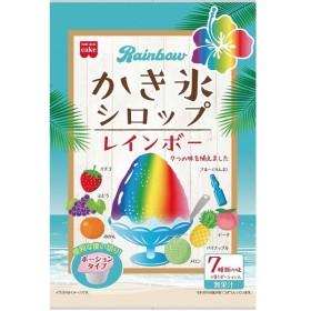 共立食品レインボーかき氷シロップ21g×7まとめ買い(×6)|4901325301062(tc)