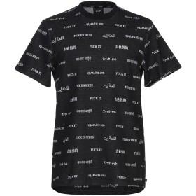 《セール開催中》HUF メンズ T シャツ スチールグレー L コットン 100%