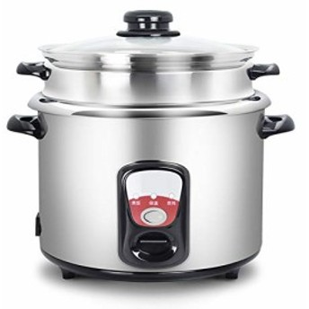 電気炊飯器ホーム伝統的なヴィンテージ 304 ステンレス鋼内部米炊飯器 5 L (中古良品)