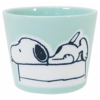 スヌーピー 湯呑み 撥水 フリーカップ 寝そべりスヌーピー ピーナッツ ギフト食器 キャラクター グッズ