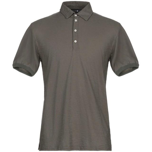 《セール開催中》HYDROGEN メンズ ポロシャツ ミリタリーグリーン S コットン 100%