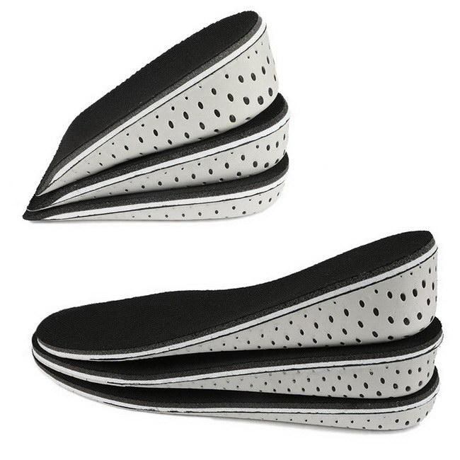 FOFU-鞋墊隱形內增高墊運動舒適保暖全墊半墊男女通用【09S2388】