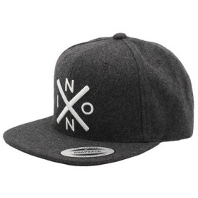 ニクソン(NIXON) EXCHANGE SNAPBACK ハット GRAY NC2066145-00 (Men's、Lady's)