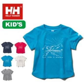HELLY HANSEN ヘリーハンセン キッズ S/SサンライズTee Tシャツ