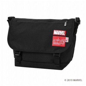 マンハッタン ポーテージ MARVEL Collection Casual Messenger Bag JR ユニセックス Black M 【Manhattan Portage】