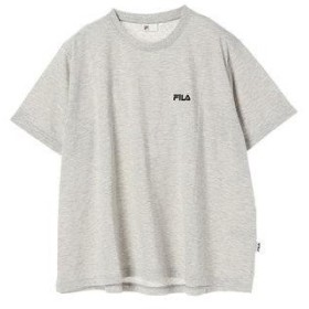 イーハイフンワールドギャラリー E hyphen world gallery FILAワンポントTシャツ (Gray Mixture)