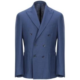 《期間限定セール開催中!》CASATO メンズ テーラードジャケット ブルー 50 麻 58% / バージンウール 42%