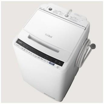 日立 HITACHI 全自動洗濯機 「ビートウォッシュ」 [洗濯8.0kg/インバーターモーター搭載] BW-V80E-W ホワイト