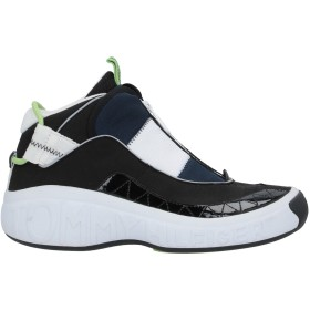 《セール開催中》TOMMY JEANS メンズ スニーカー&テニスシューズ(ハイカット) ブラック 41 紡績繊維