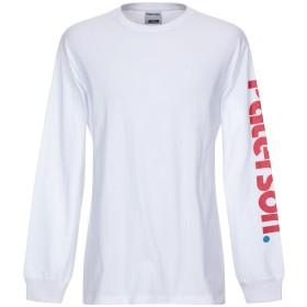 《セール開催中》PATERSON メンズ T シャツ ホワイト S コットン 100%