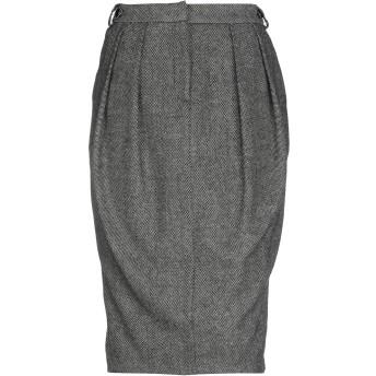 《9/20まで! 限定セール開催中》EMPORIO ARMANI レディース 7分丈スカート ブラック 46 ウール 50% / ポリエステル 50%