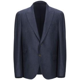 《期間限定セール開催中!》ELEVENTY メンズ テーラードジャケット ダークブルー 52 ウール 89% / シルク 6% / カシミヤ 5%