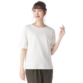 レディース 婦人 フレア袖Tシャツ